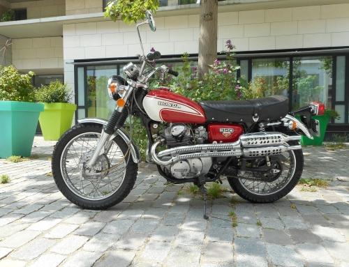 A vendre : Honda CL350 K5 !
