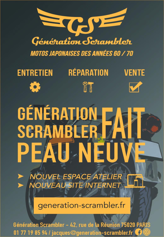 Génération Scrambler fait peau neuve !